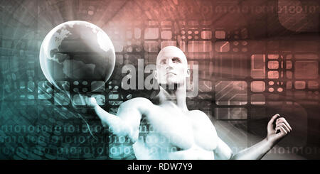 Emerging Markets and Global Trends Analytics Concept - Stock Photo