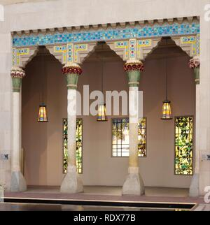 Architectural Elements from Laurelton Hall, Oyster Bay, New York - Stock Photo