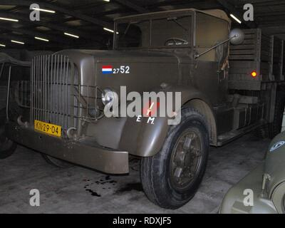 Army truck KN-29-04 served in Indie pic1. - Stock Photo