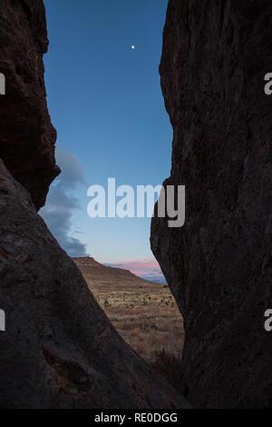 City of Rocks S.P., Grant County, New Mexico, USA - Stock Photo