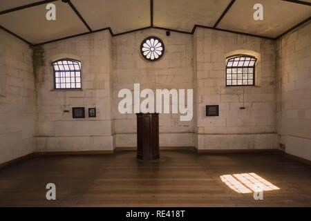 Port Arthur penal colony, asylum church, Tasmania, Australia - Stock Photo