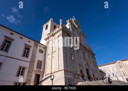 The Cathedral of Sé Nova, Coimbra, Portugal - Stock Photo