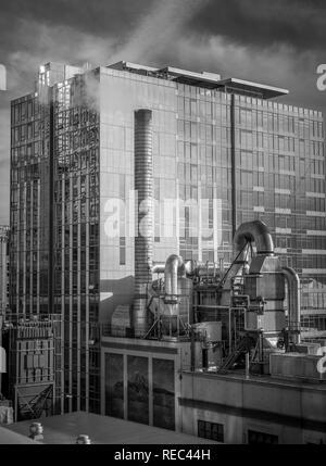 Buildings in downtown Seattle, Washington - Stock Photo