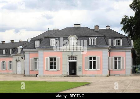 Benrath Castle in Dusseldorf-Benrath, North Rhine-Westphalia - Stock Photo