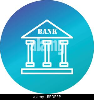 Bank Vector Icon Sign Icon Vector Illustration For Personal And Commercial Use... Clean Look Trendy Icon... - Stock Photo