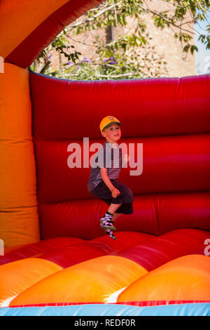 Having fun in the park - Stock Photo
