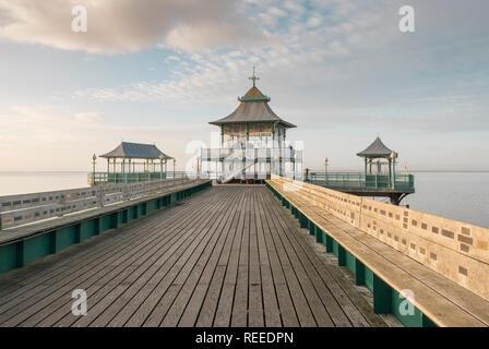 Clevedon Pier, near Bristol, England, UK