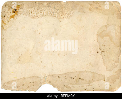 Old Grungy Photo Paper Background - Stock Photo