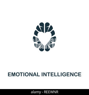 Emotional Intelligence icon. Premium style design from personality collection. Pixel perfect emotional intelligence icon for web design, apps, softwar - Stock Photo