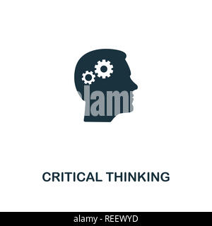 Critical Thinking icon. Premium style design from personality collection. Pixel perfect critical thinking icon for web design, apps, software, printin - Stock Photo