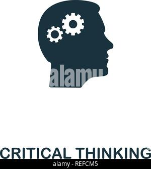 Critical Thinking icon. Premium style design from personality icon collection. Pixel perfect Critical Thinking icon for web design, apps, software, print usage - Stock Photo