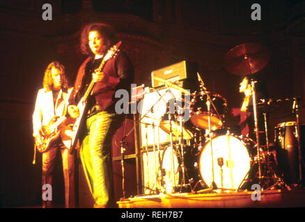 WEST, BRUCE AND LAING UK rock group about 1973 - Stock Photo
