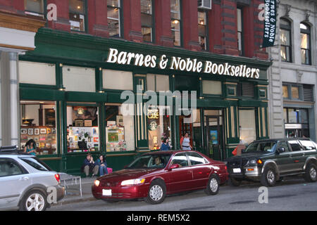 New York, NY - May 04: (Exterior) at Bookstore appearance by actor Rutger Hauer, signing ALL THOSE MOMENTS and discussing all those wonderful genre ad - Stock Photo
