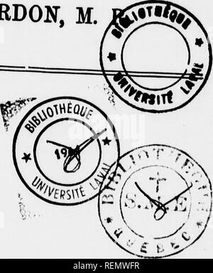 . Rapport sur l'expédition à la Baie d'Hudson en 1886 sous le commandement du lieut. A.R. Gordon, M.R. [microforme]. Alerte (Navire); Alert (Ship); Sciences naturelles; Natural history. F , 101,0.^1 RAPPORT SITB niPÉDITIOH À lA BAI£ D'HDDSON EN 1886 SOUS LE COMMANDEMENT  - DU WEUT. A. R. GORDON, M.. Please note that these images are extracted from scanned page images that may have been digitally enhanced for readability - coloration and appearance of these illustrations may not perfectly resemble the original work.. Gordon, Andrew R. (Andrew Robertson), 1851-1893. [Toronto? : s. n. ] - Stock Photo