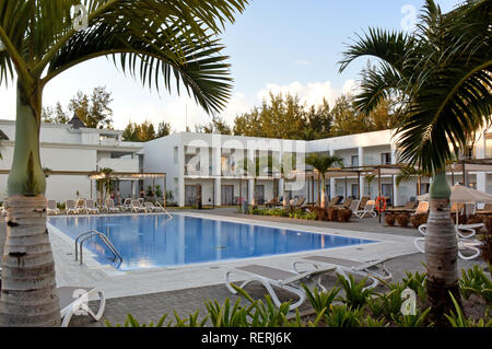 Tamarin, Mauritius. 06th Nov, 2017. The resort of the Hotel Riu Creole on the southwest coast of the island Mauritius in the Indian Ocean. Credit: Holger Hollemann/dpa/Alamy Live News - Stock Photo