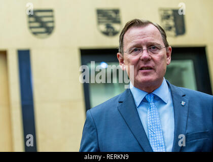 Berlin, Germany. 19th Oct, 2018. Bodo Ramelow (The Left), Prime Minister of Thuringia, in the Federal Council. Credit: Jens Büttner/dpa-Zentralbild/dpa/Alamy Live News - Stock Photo
