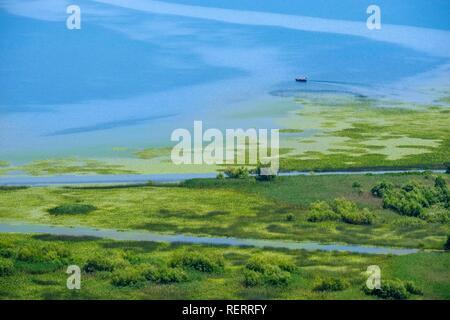 Lake Skadar near Virpazar, Lake Skadar National Park, near Bar, Montenegro - Stock Photo