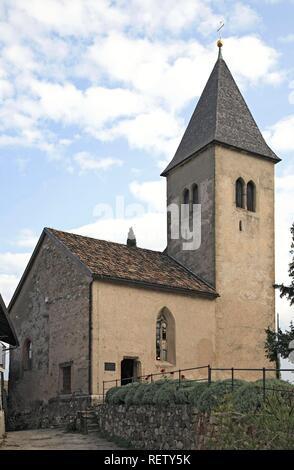 Saint Jacob in Kastelaz, Tramin, South Tirol, Italy, Europe - Stock Photo