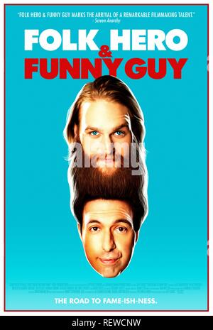 WYATT RUSSELL & ALEX KARPOVSKY POSTER  Character(s): Jason, Paul  Film 'FOLK HERO & FUNNY GUY' (2016)  Directed By JEFF GRACE  16 April 2016  SAS75558  Allstar Picture Library/GRAVITAS VENTURES  **WARNING** This Photograph is for editorial use only and is the copyright of GRAVITAS VENTURES  and/or the Photographer assigned by the Film or Production Company & can only be reproduced by publications in conjunction with the promotion of the above Film. A Mandatory Credit To GRAVITAS VENTURES is required. The Photographer should also be credited when known. No commercial use can be granted without  - Stock Photo