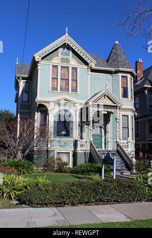 Eastlake House, built 1894, Alameda, California - Stock Photo