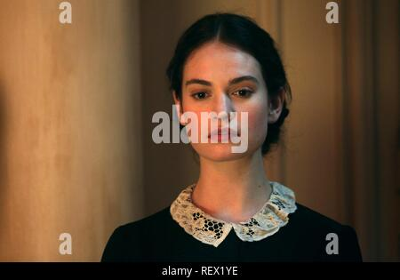 LILY JAMES THE EXCEPTION (2016 Stock Photo: 232913369 - Alamy