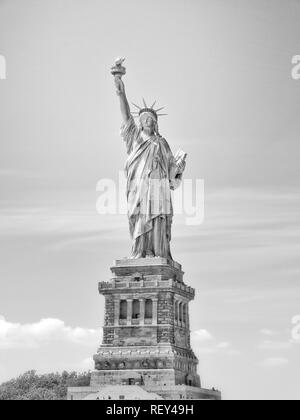 Artistic Picture of Statue of Liberty - Stock Photo