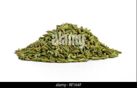 Pile Of Fennel Seeds - Stock Photo