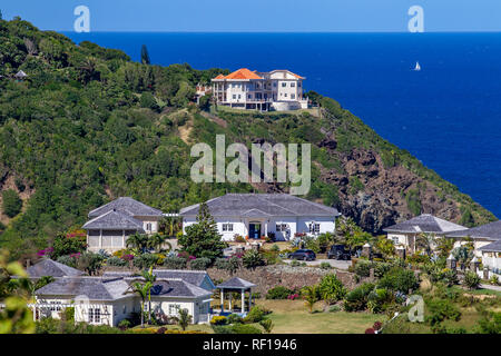 Castries  Saint Lucia one of the Windward Island in the Caribbean.