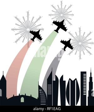 united arab emirates - Stock Photo