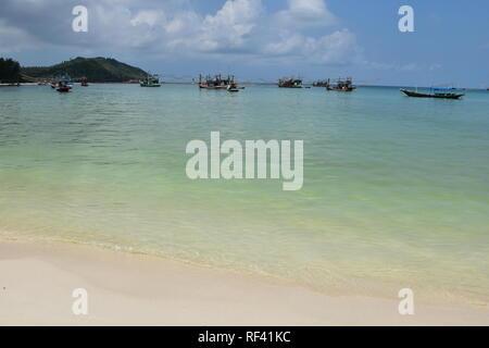 The  Shore of Thong Nai Pan Yai - Stock Photo