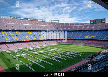 Camp Nou - Stock Photo