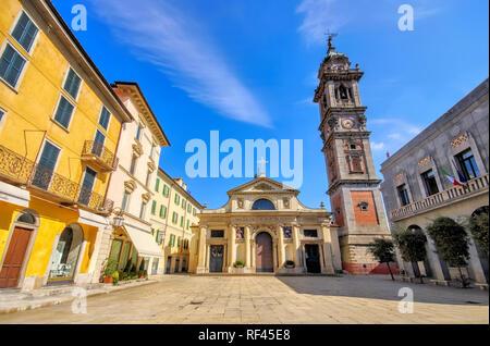 Varese Basilica di San Vittore Martire in Italy - Stock Photo