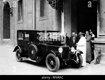 pope pius XI, 1930 - Stock Photo