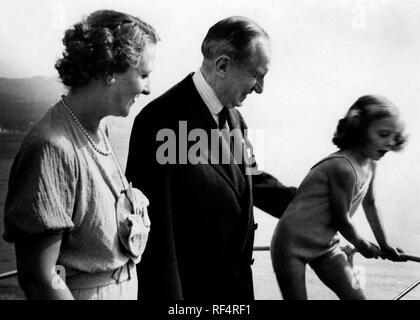 marconi family, 1936 Stock Photo