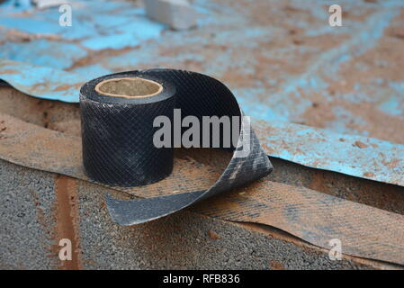 Damp proof course - Stock Photo
