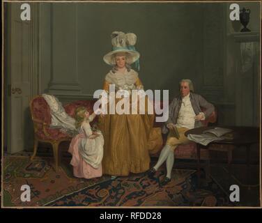 61b68565b The Saithwaite Family. Artist: Francis Wheatley (British, London ...