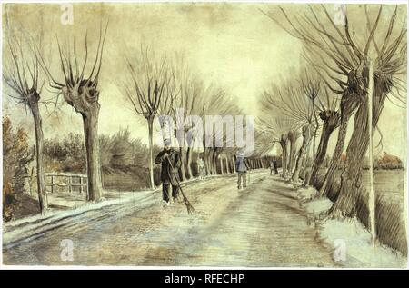 Vincent van Gogh, Road in Etten.jpg - RFECHP - Stock Photo