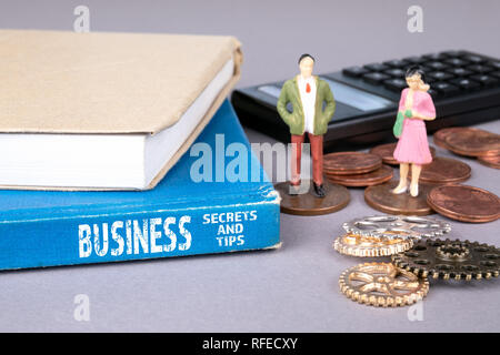 business secrets and tips concept - Stock Photo