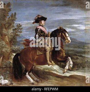 Equestrian Portrait of Philip IV by Diego Velzquez.jpg - RFEPWM 1RFEPWM - Stock Photo