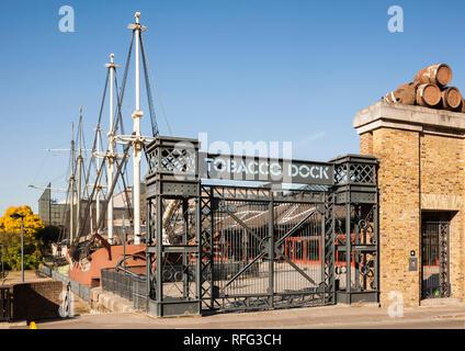 Tobacco Dock, Wapping, London - Stock Photo