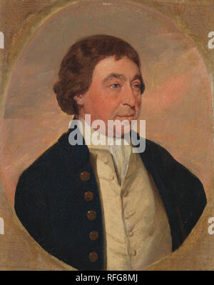 Josiah Rose of Liverpool. Date/Period: Ca. 1795. Painting. Oil on paper laid to canvas. Height: 273 mm (10.74 in); Width: 216 mm (8.50 in). Author: Benjamin Marshall. - Stock Photo