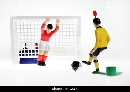 DEU Germany : Tipp Kick Football Soccer Table game | - Stock Photo