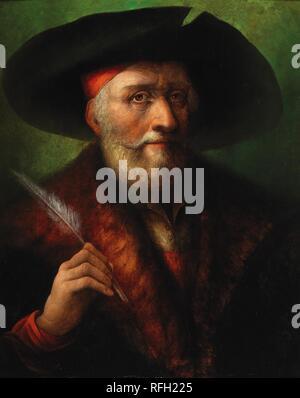 Manner of Albrecht Drer Portrait of a scholar,.jpg - RFH225 1RFH225 - Stock Photo