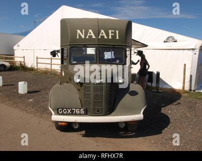 Austin K2 Naafi Wagon (1941) pic1. - Stock Photo