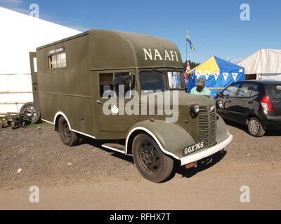 Austin K2 Naafi Wagon (1941) pic2. - Stock Photo