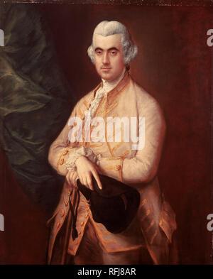 Thomas Gainsborough - Sir Robert Clayton - Google Art Project.jpg - RFJ8AR - Stock Photo