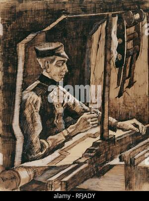 Weaver Nuenen, January 1884 Vincent van Gogh (1853 - 1890).jpg - RFJADY - Stock Photo