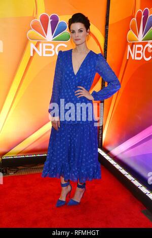 Jamie Alexander attends NBC's New York Mid Season Press Junket at Four Seasons Hotel New York on January 24, 2019 in New York City. - Stock Photo