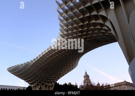 Metropol Parasol Mushroom Canopy Las Setas de la Encarnación Seville Spain