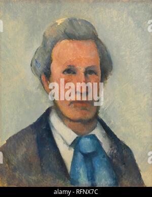 Paul Czanne 1839 - 1906 PORTRAIT DE VICTOR CHOCQUET.jpg - RFNX7C - Stock Photo